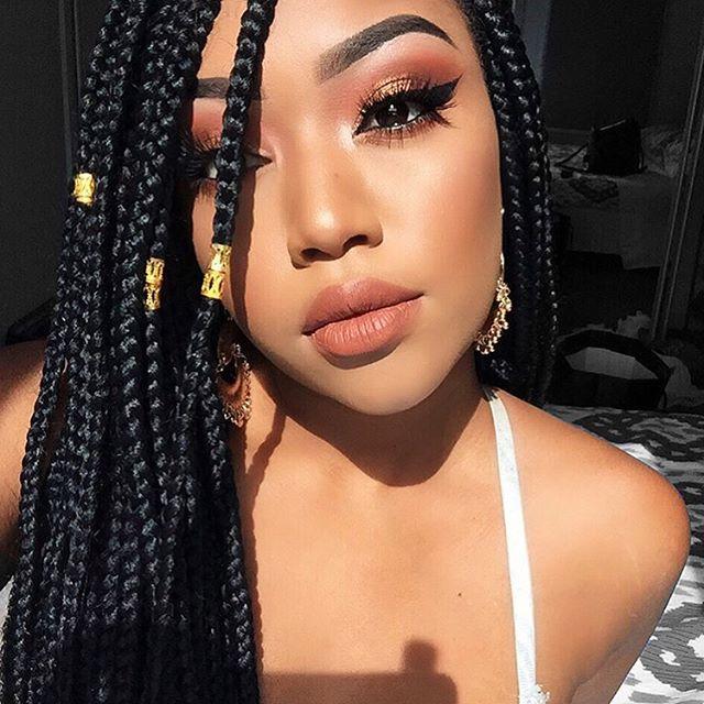 _elenitekeste Up close 😍__#braidstyles _#luvhair _#luvhairapp