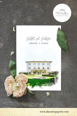 Villa la Vedetta Florence Italy