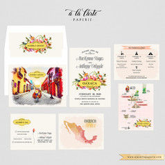 Oaxaca Mexico Destination wedding set