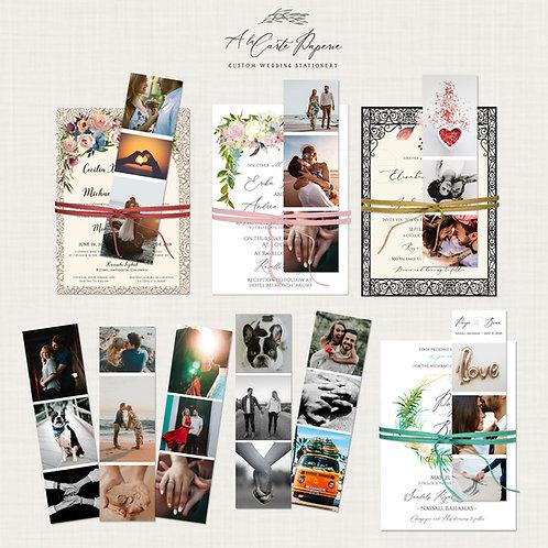 Photobook in bookmark format
