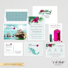 Cabo Mexico Destination wedding set