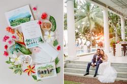 Sri Lanka Wedding Invitation Set