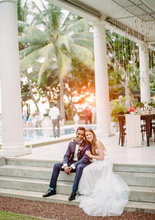 Kelly & Sanjiv Sri Lanka Wedding