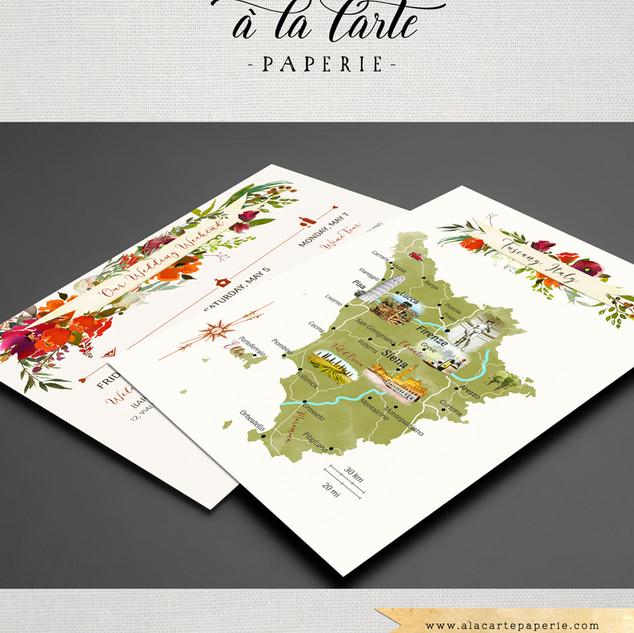 Siena Tuscany Map