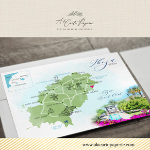Ibiza Spain Map