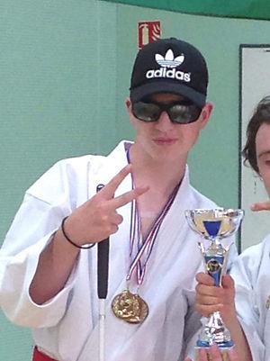 Nohan, jeune champion de Karaté