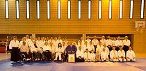 Photo de groupe pise lors du Week-End du Handicap pour les Nuls en 2013