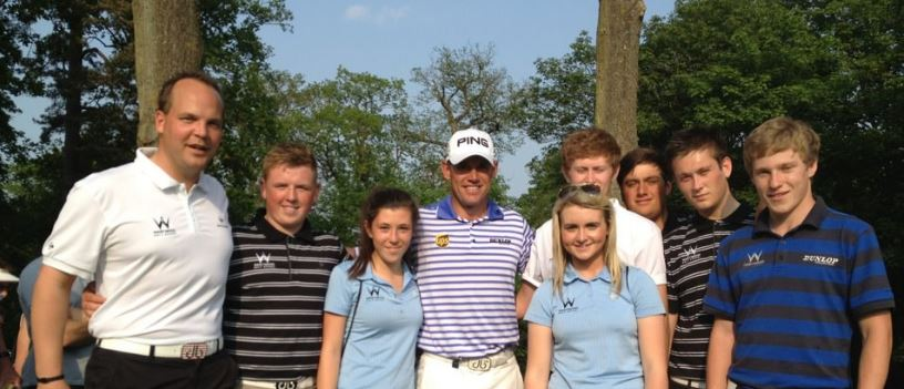 Jack Yule Lee Westwood Golf School