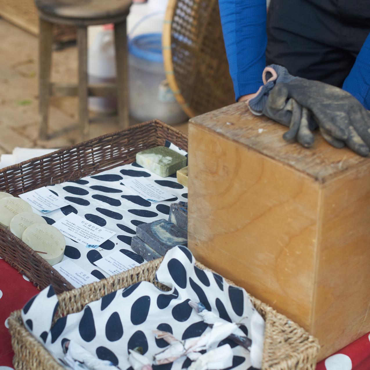 農夫親手製作的手工皂