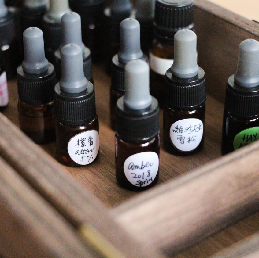 調香製香工作坊 - 樹脂篇