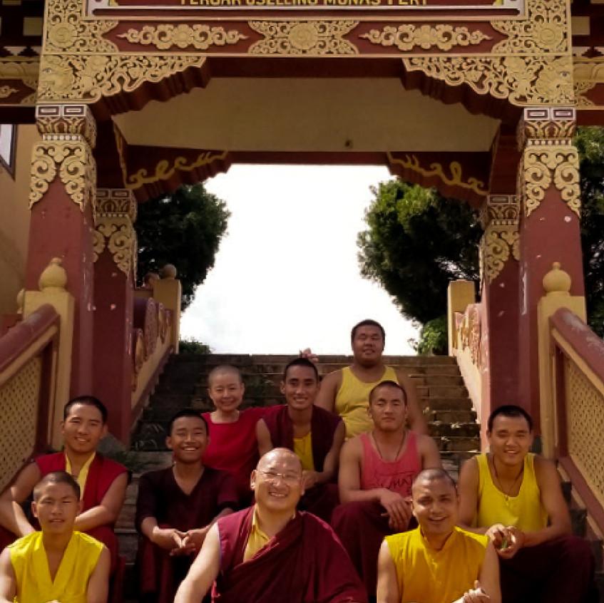 尼泊爾光明寺・藏香研習