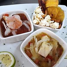 Ceviche Ecuatoriano Mixto