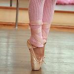 Junge Ballett-Fuss