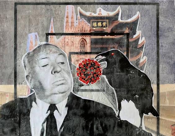 THE GIFT (Corona Virus series) Painting