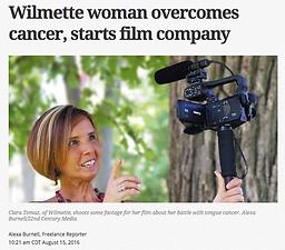 Wilmette woman overcomes cancer, starts