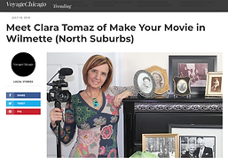 Meet Clara Tomaz of Make Your Movie in W