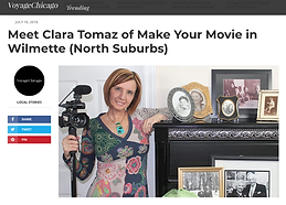 Meet Clara Tomaz of Make Your Movie in W
