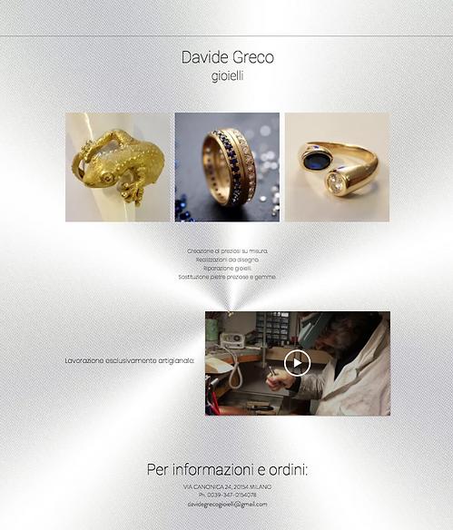 Creazione di preziosi su misura | Davide