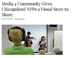 Media 4 Community Gives Chicagoland NFPs
