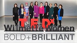 SVETLANA BAKLANOVA at TEDX Wilmette Wome