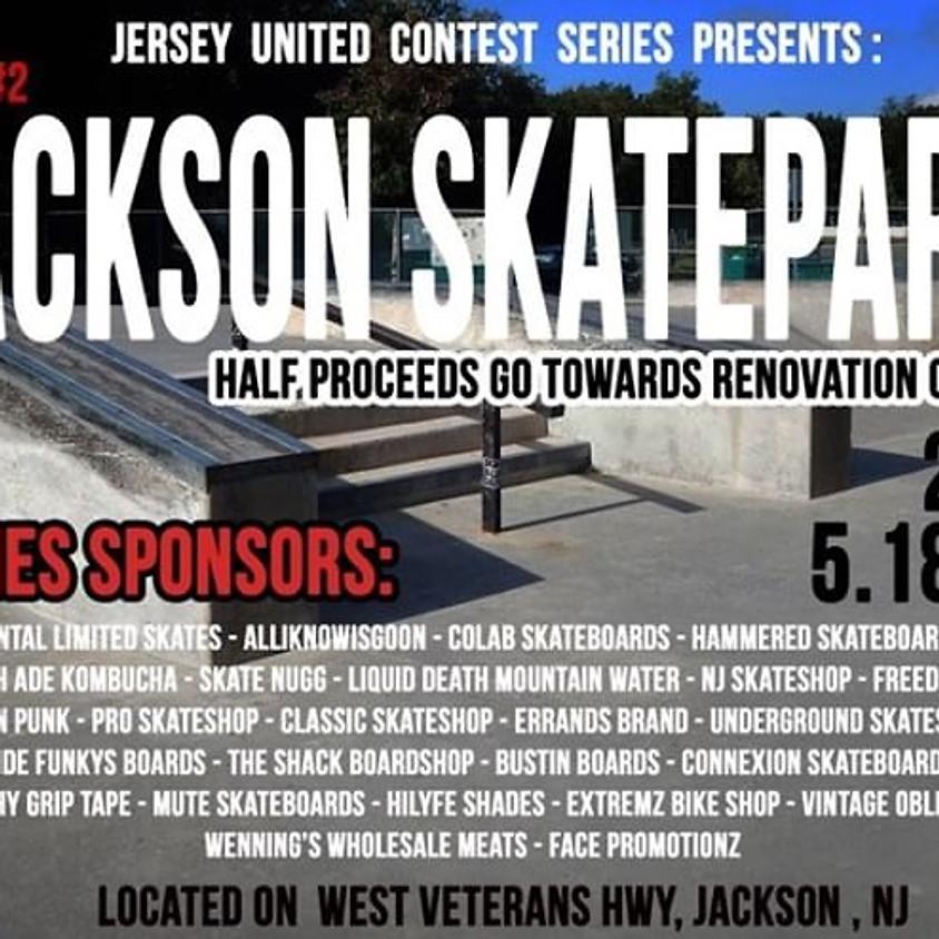 Jersey United Contest Series Stop #2 Jackson Skatepark