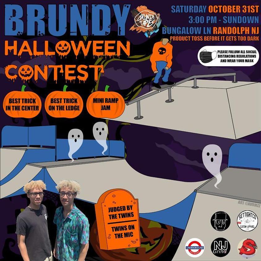 Brundy Halloween Contest