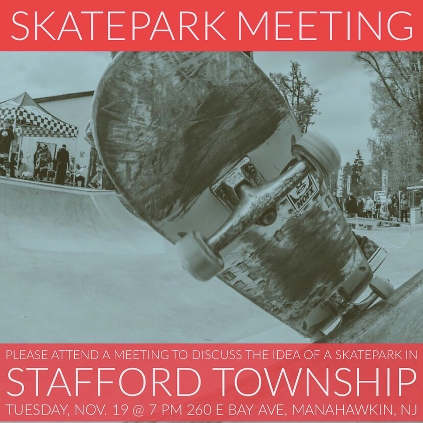 Skate Park Meeting for Stafford Township