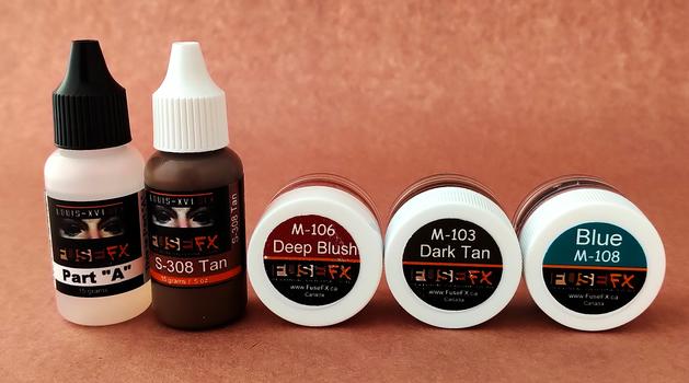 Tan Skin Trial Paint Kit