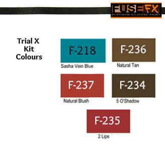 TKX Colour Chart