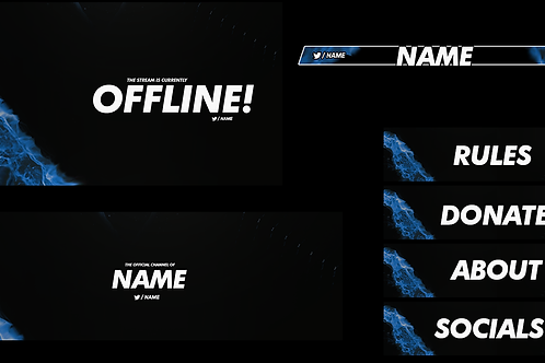 Flare Premade Twitch Pack