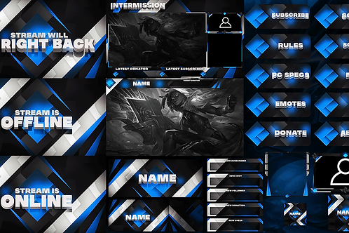 Premade Twitch Pack