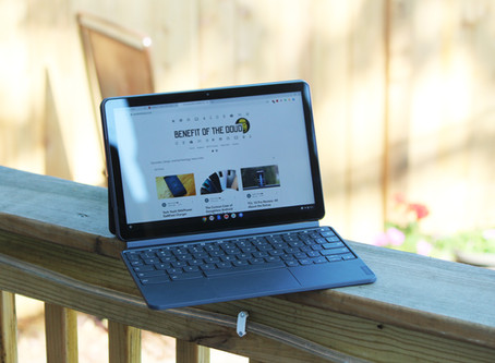 Lenovo Ideapad Duet Chromebook first impressions: This thing is legit