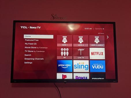 """Tech Yeah! TCL 32"""" TV"""