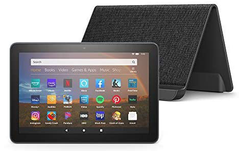 Kindle Fire HD 8Plus with Dock