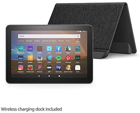 Kindle Fire HD 8+ and Dock