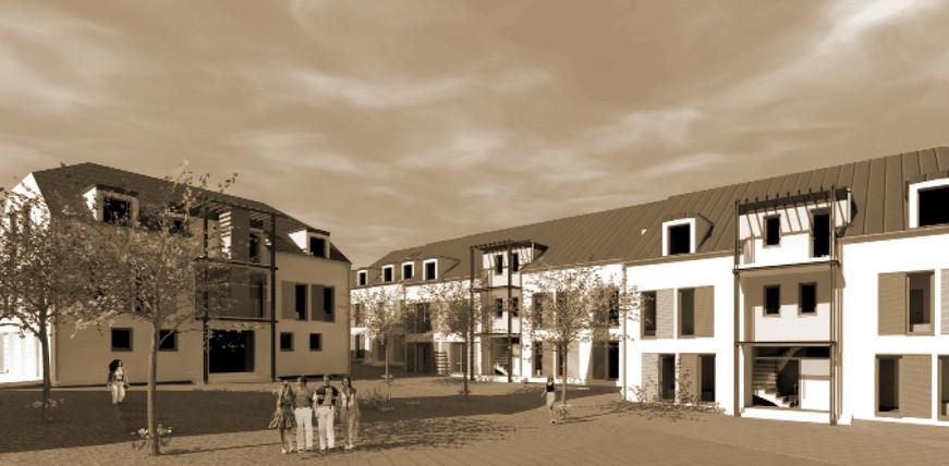 Immeuble résidentiel rue Kiirchestrooss