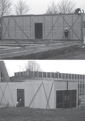 Bureaux en modulaire au Campus Kirchberg