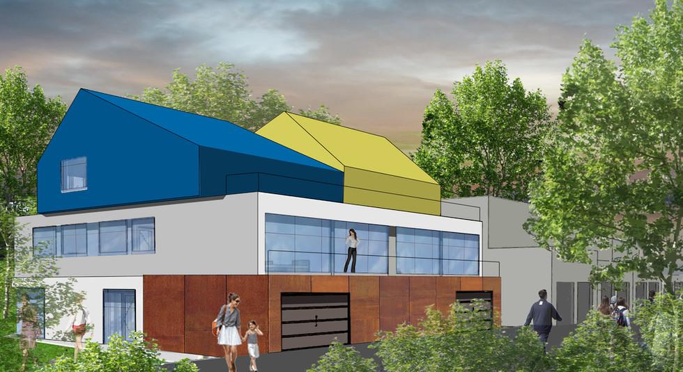 Construction d'une résidence