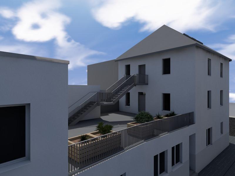 Transformation d'une maison en appartements