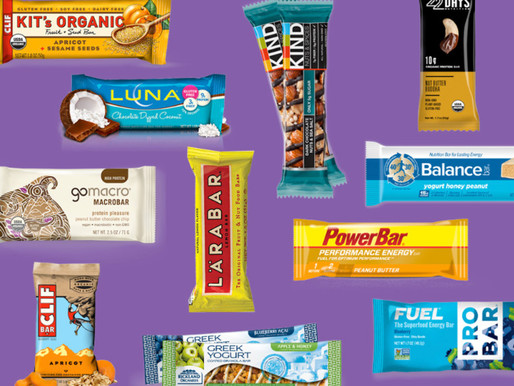Meal replacement, energy and sports bars.