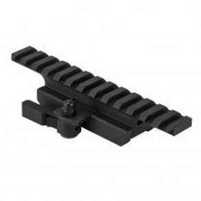 """GEN2 AR15 ¾"""" PICATINNY RAIL RISER MOUNT WITH LOCKING QUICK RELEASE MOUNT"""