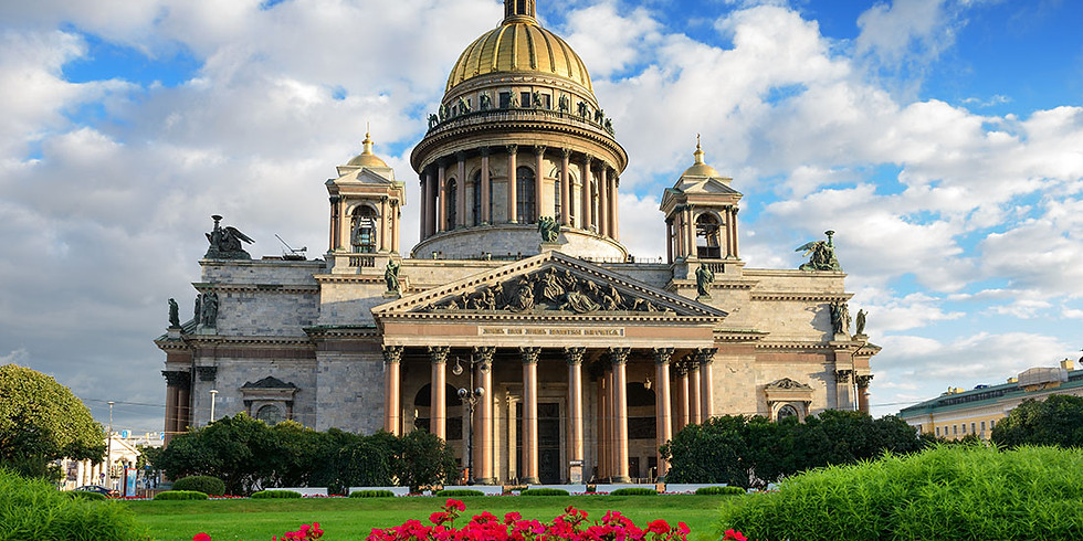 Evening Lecture: Palaces and Gardens of St. Petersburg