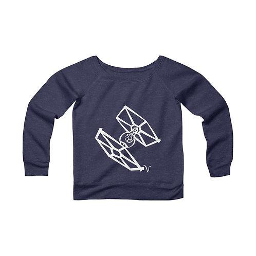 TIE Fighter [2] Women's Wide Neck Sweatshirt