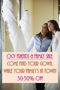 OCV fFriends and Family Sale