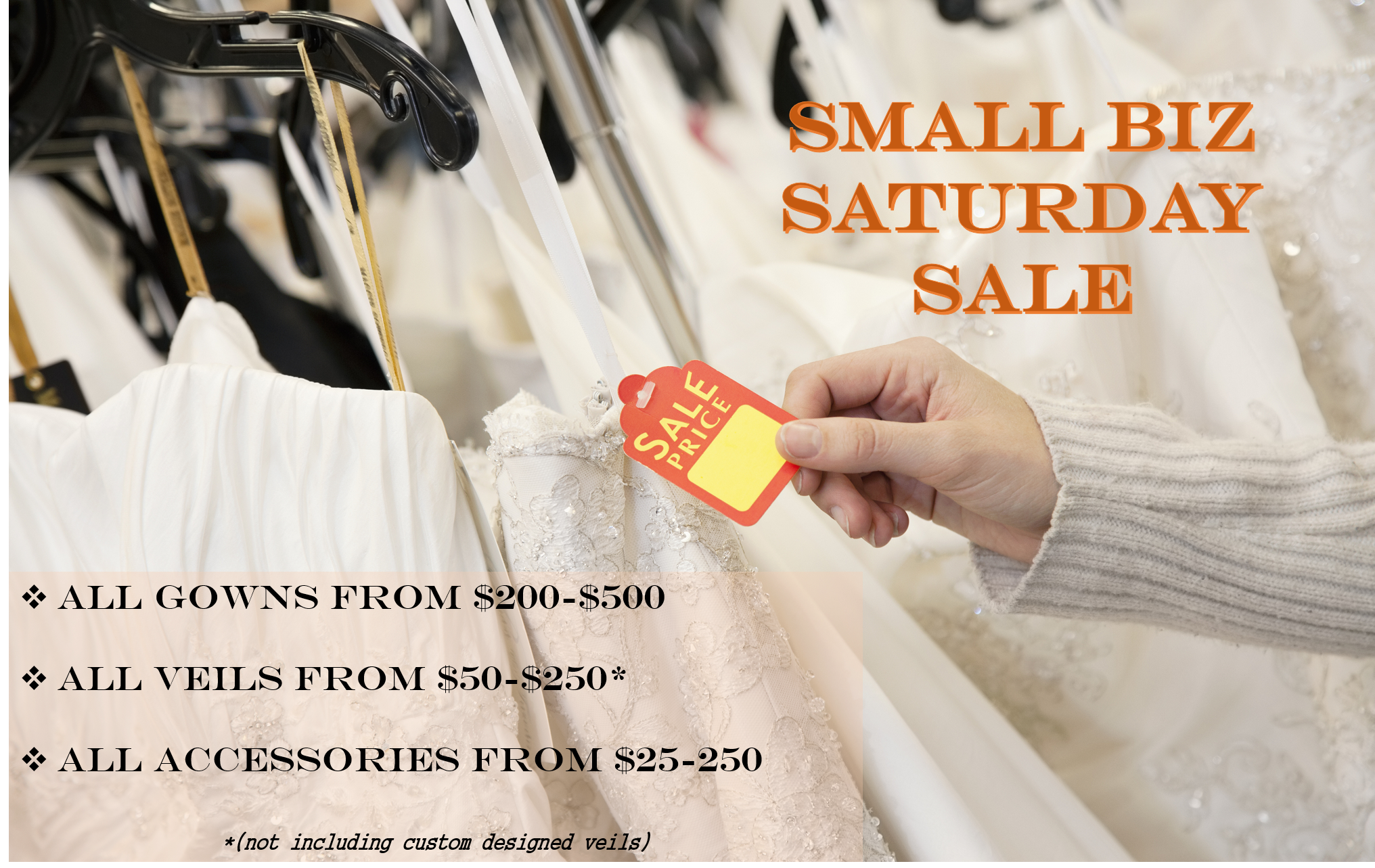 Small Biz Saturday Sale