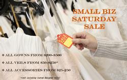 Small Biz Saturday Sale