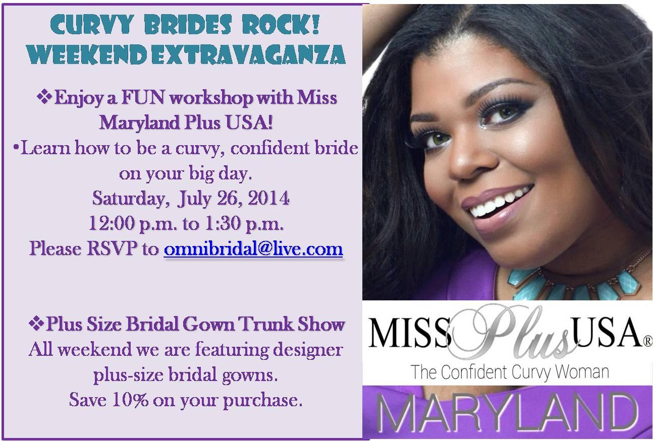 Curvy Brides Rock!