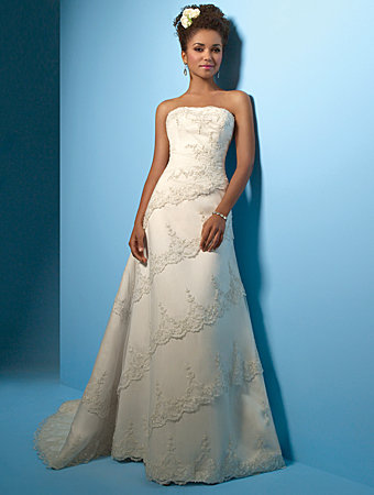 Alfred Angelo  style no. 2001
