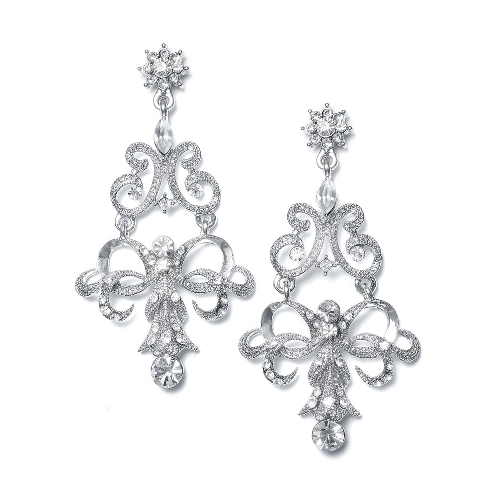 Bridal accessories earings