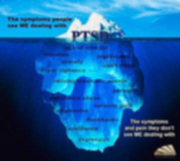 The symptoms of PTSD